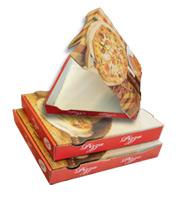 Verpackungen-Pizzaboxen-Pappteller