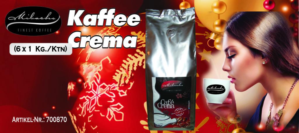 Mibacho- Kaffee crema