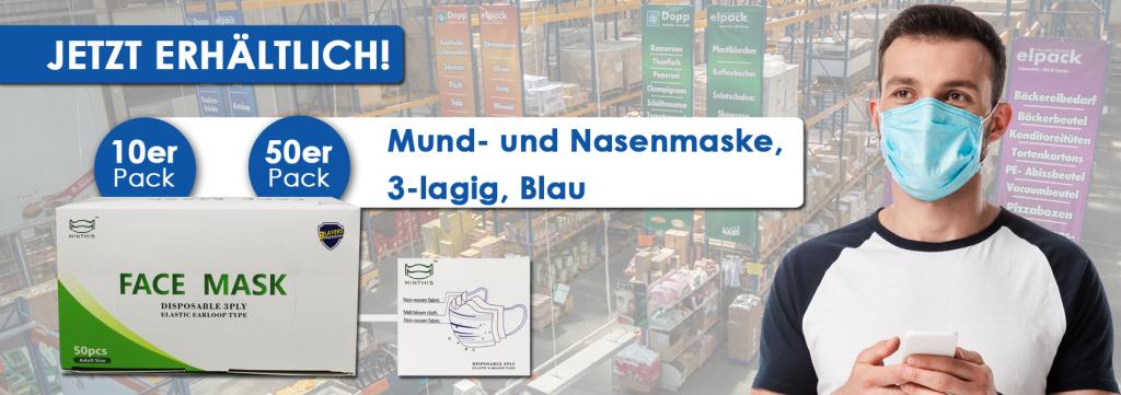Slider Mundschutz Maske Berlin Doppelpack