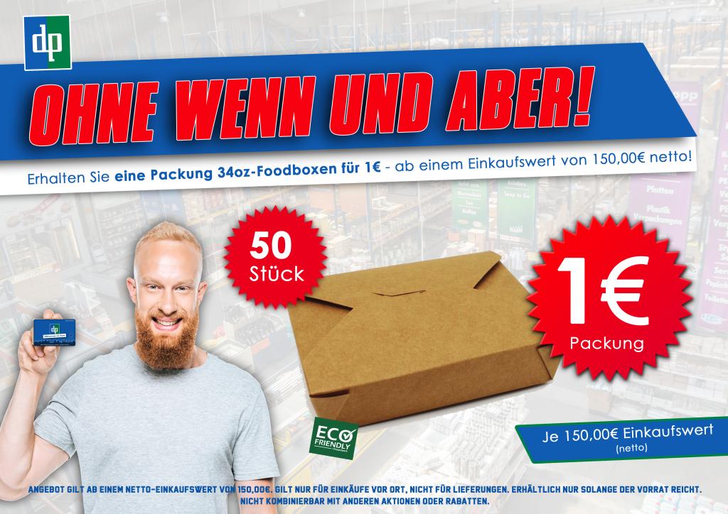 Einkaufs Bonus 34oz Foodbox Modell