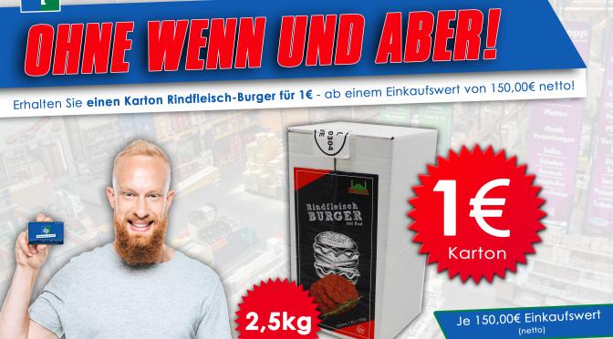 Einkaufsbonus Rindfleisch Burger Modell